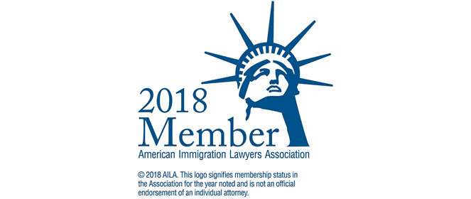 Member of the American Immigration Lawyers Association